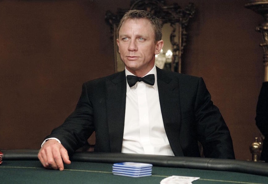 Above: Daniel Craig tops the list of highest-paid actors in Hollywood