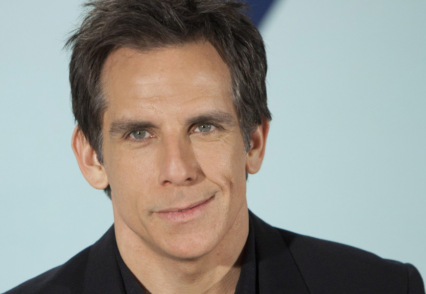 Above: Ben Stiller is speaking out about his diagnosis with prostate cancer