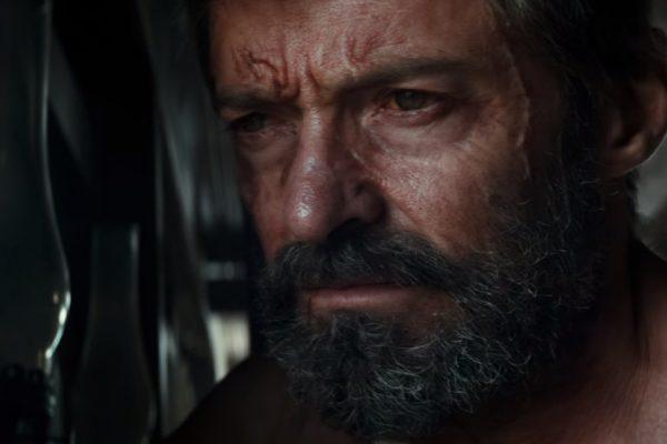 Above: Hugh Jackman plays an older, less ferocious version of X-Men's most notorious mutant in 'Logan'