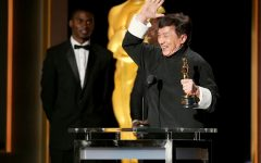 Above: Jackie Chan is the first Chinese actor in history to receive the award.