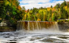 Above: The Tahquamenon Falls
