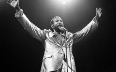 Above: Marvin Gaye performs live (1980)
