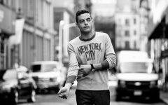 Above: Rami Malek will star in 'Bohemian Rhapsody'
