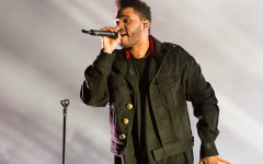 Above: The Weeknd will debut a new spring line with H&M