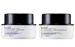 Above: Belif The True Cream Aqua Bomb and Moisturizing Bomb