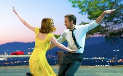 Above: 'La La Land' leads the group with seven nominations