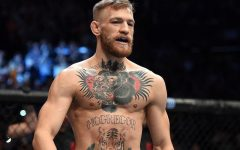 Above: Conor McGregor will star in HBO's 'Game of Thrones'