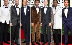Above: A few of our favourites on the 2017 Golden Globe red carpet
