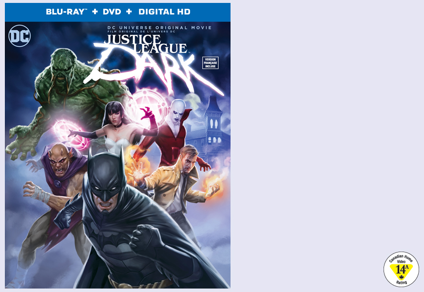 Enter For A Chance To Win JUSTICE LEAGUE DARK On Blu-ray