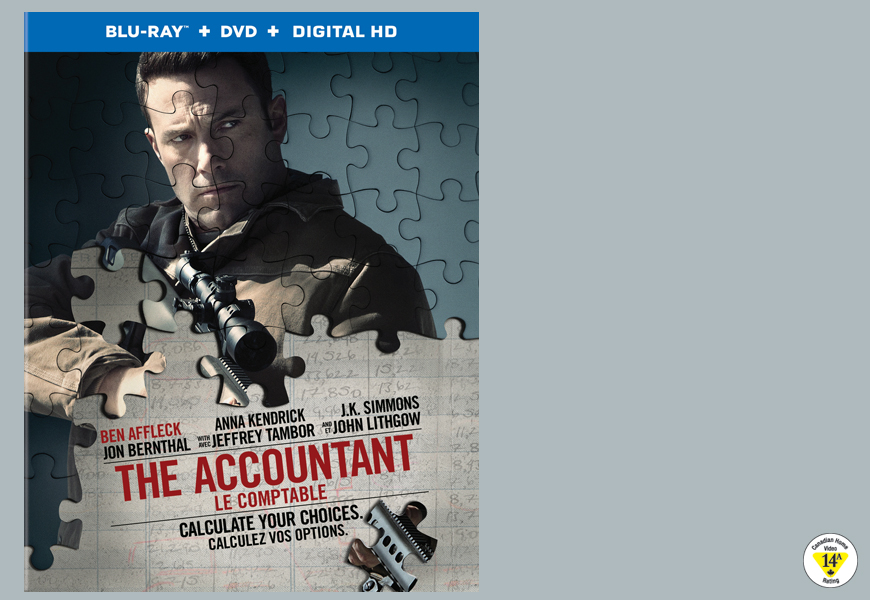 Enter For A Chance To Win THE ACCOUNTANT On Blu-ray™!