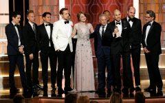 Above: Damien Chazelle's 'La La Land' breaks Golden Globes record with 7 wins