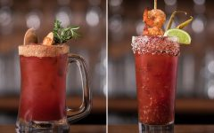 Above (L-R): The Clam & The Patriot and The Hotlanta Caesar