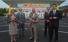 Above: 'The Founder' follows the rise of the global fast-food chain