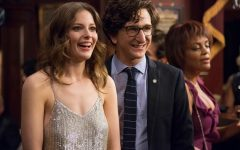Above: Gillian Jacobs and Paul Rust star in 'Love'