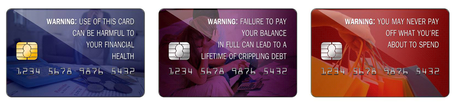 Should There Be Warnings On Credit Cards?