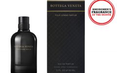 Above: Bottega Veneta's latest men's fragrance, Pour Homme Parfum