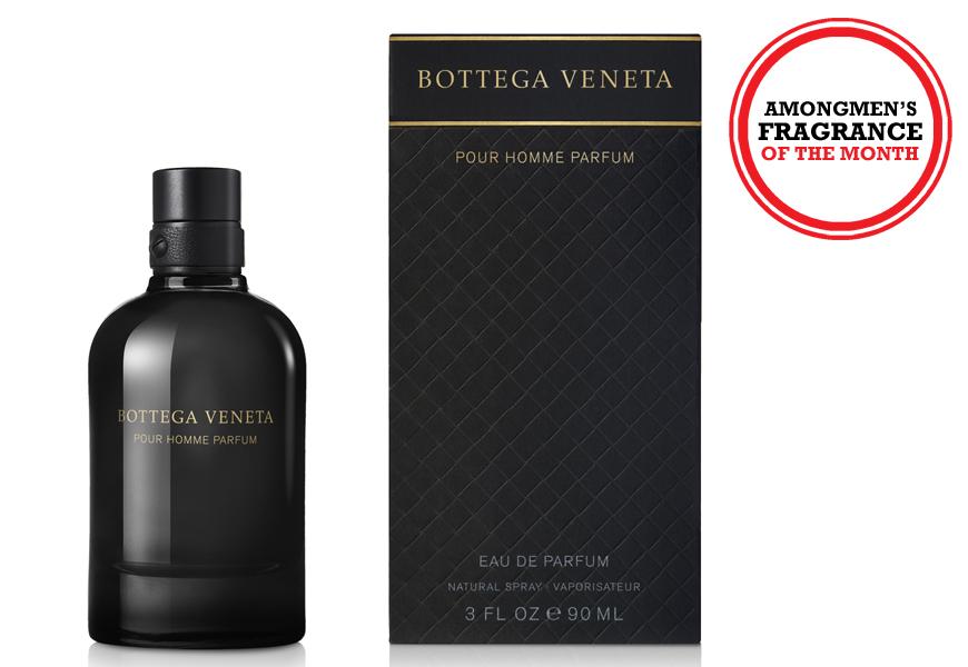 Above: Bottega Veneta's latest men's fragrance, Pour Homme Parfum