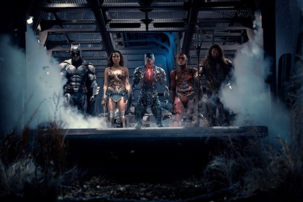 Above: Batman, Wonder Woman and more band together against evil