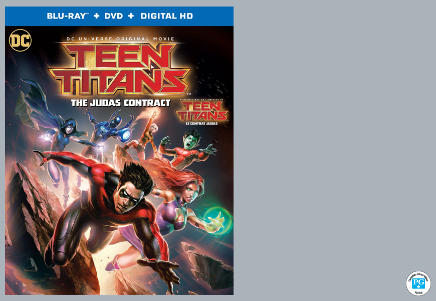 Enter For A Chance To Win DCU TEEN TITANS: THE JUDAS CONTRACT On Blu-ray™!