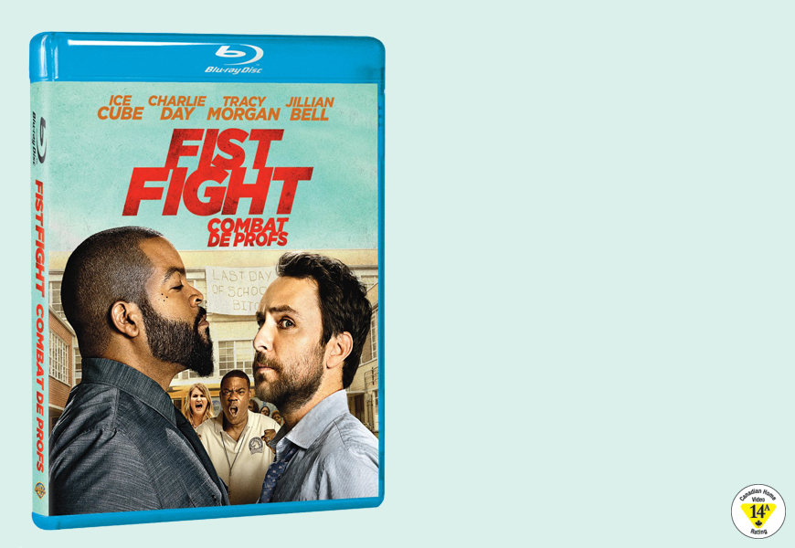 Enter For A Chance To Win FIST FIGHT On Blu-ray