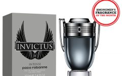 Above: This month? We try out the new Paco Rabanne Invictus Intense EDT