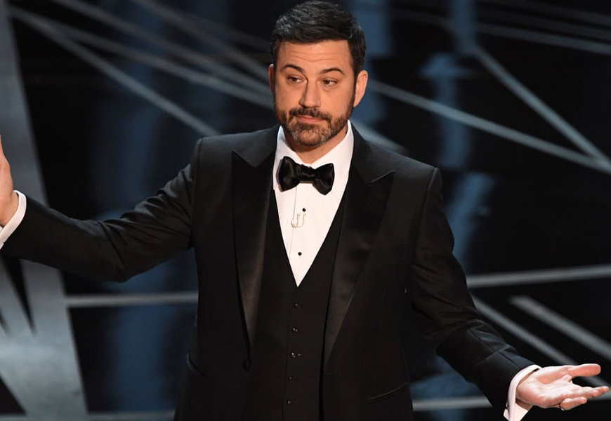 Jimmy Kimmel Will Host The 2018 Oscars