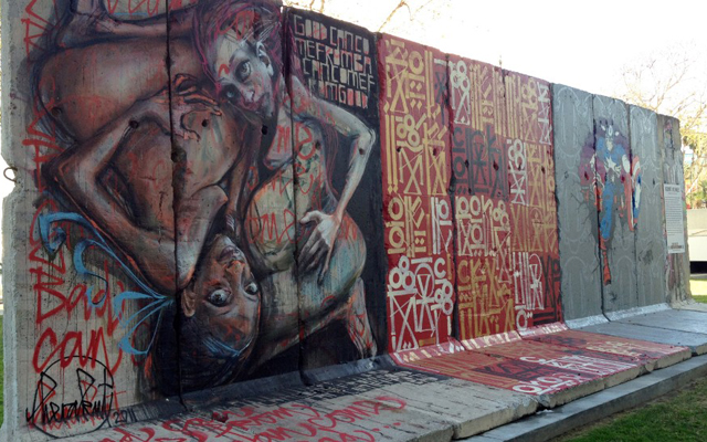 Most Instagrammed Tourist Attractions Around The World - Berlin Wall