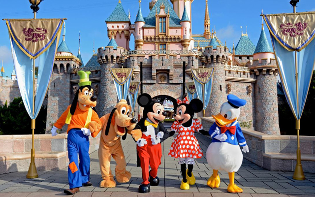 Most Instagrammed Tourist Attractions Around The World - Disneyland