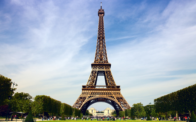 Most Instagrammed Tourist Attractions Around The World - Eiffel Tower
