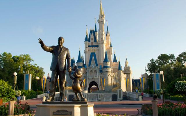 Most Instagrammed Tourist Attractions Around The World - Walt Disney World