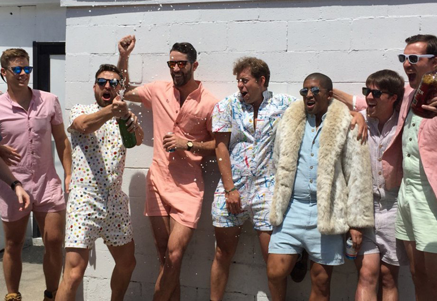Would You Wear This Romper for Men?