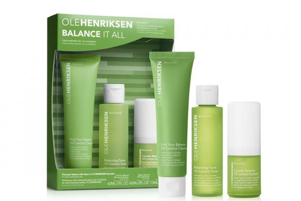 Above: This month? Your must-have product is Balance collection