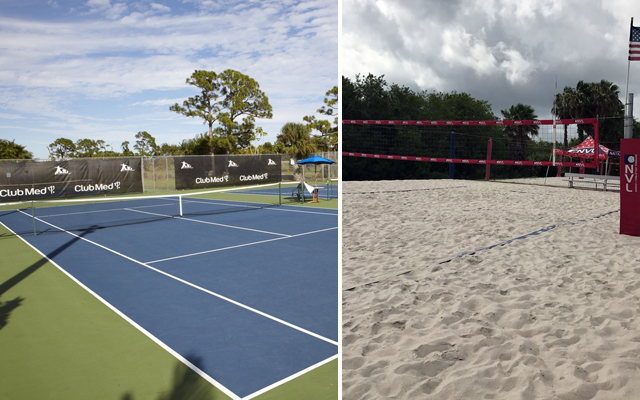 Shape Up At Club Med Sandpiper Bay - tennis and volleyball
