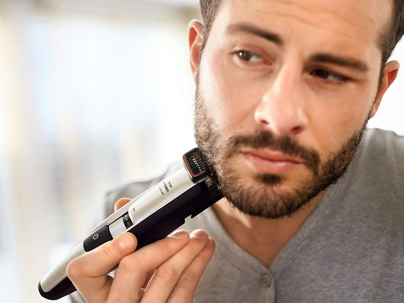 We Tried It: Philips Beadtrimmer Series 5000: Stubble Trimmer