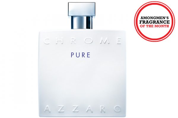 Above: This month? We try out the new Azzaro Chrome Pure EDT