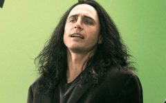 Above: James Franco stars as infamous writer-director, Tommy Wiseau