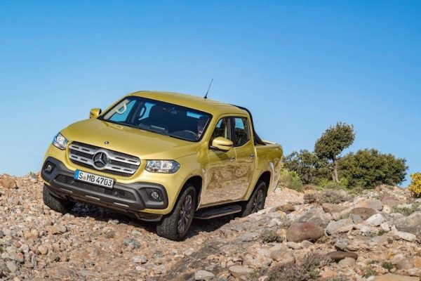 Above: The X-Class is the first Mercedes-Benz model of its kind
