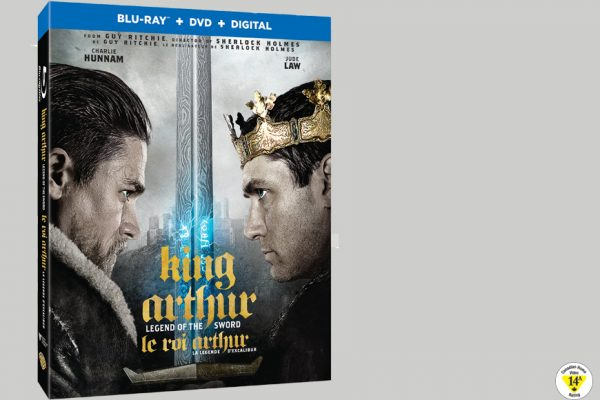 Enter For A Chance To Win KING ARTHUR LEGEND OF THE SWORD On Blu-ray