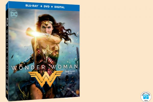 Enter For A Chance To Win WONDER WOMAN On Blu-ray
