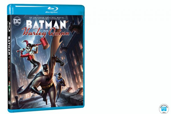 Enter For A Chance To Win DCU: BATMAN AND HARLEY QUINN On Blu-ray
