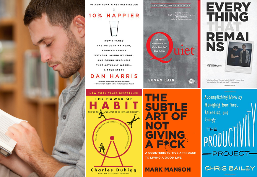 6 Must-Read Self Help Books For Men