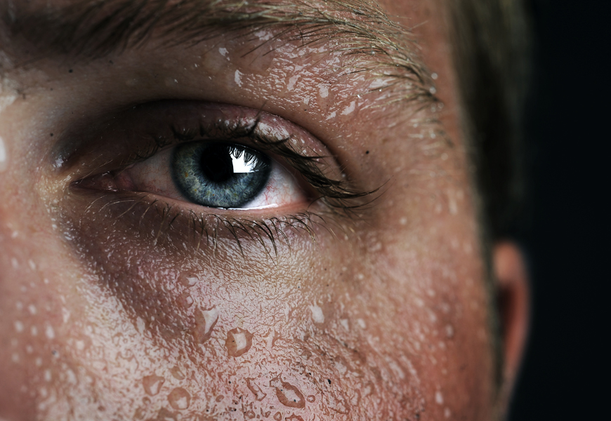 Yes! You need to sweat your skincare