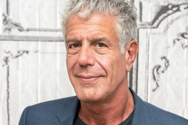 The one thing celebrity Anthony Bourdain is happy to consume on an airplane