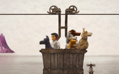 Above: The heroes of 'Isle of Dogs'