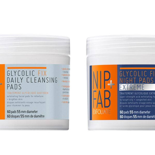 Above: Nip + Fab's Daily and Nightly Glycolic Cleansing Pads