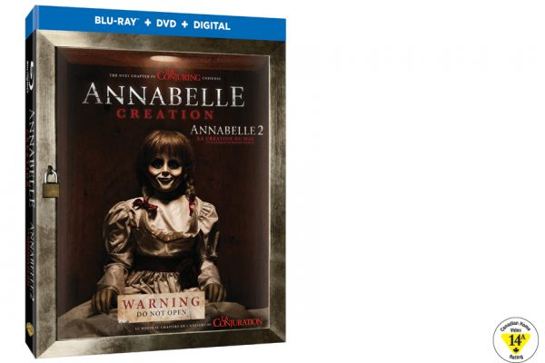 Enter For A Chance To Win ANNABELLE CREATION On Blu-ray
