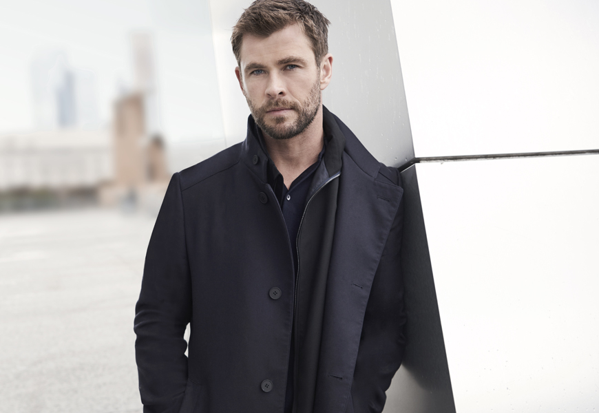 AmongMen talks to Hugo Boss' chief brand officer Ingo Wilts and brand ambassador Chris Hemsworth (pictured above) about Boss Bottled and the new Man of Today campaign