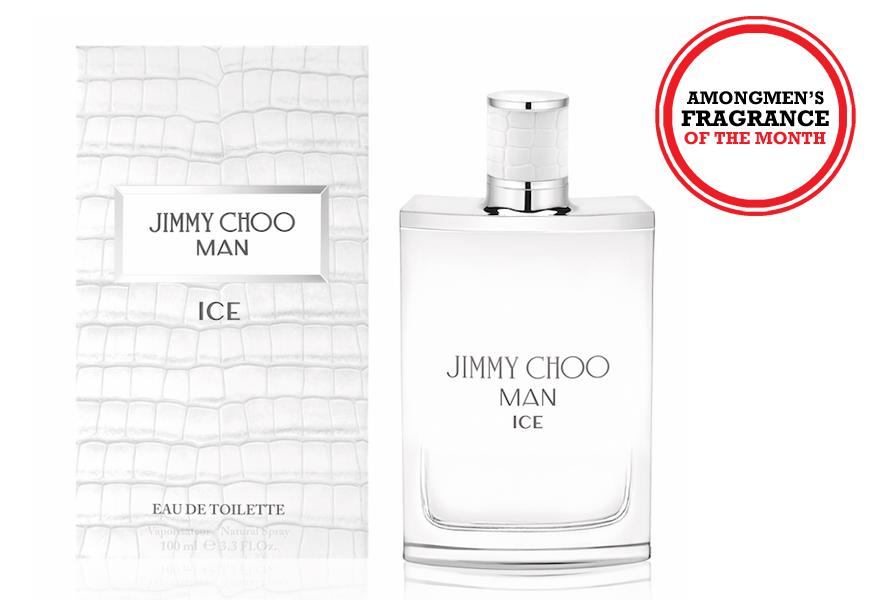 Above: Jimmy Choo Ice Man eau de toilette