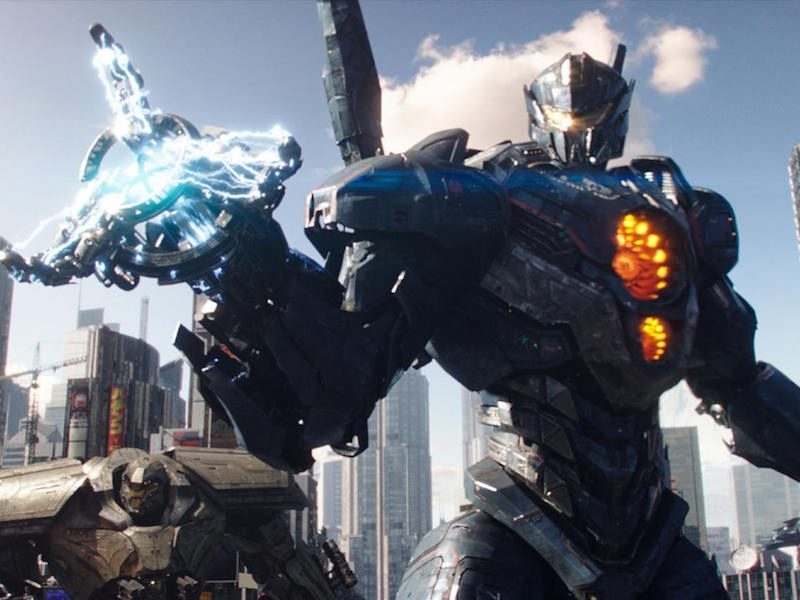 Above: Your first look at the film's brand new Jaeger