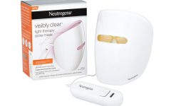 Above: Neutrogena's new Light Therapy Acne Mask